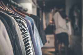 shallow focus photography of clothes