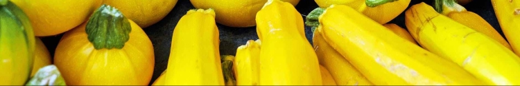 yellow round vegetables